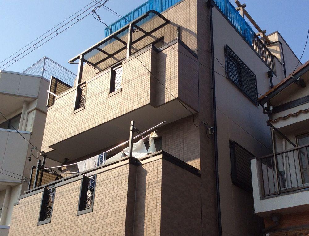 名古屋市千種区K様邸 外壁・屋根・防水工事をご紹介させていただきます。  外壁はALCでチョー...