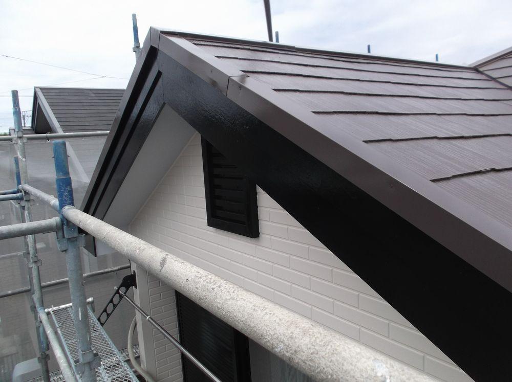 <p>外壁・屋根 完成です</p>