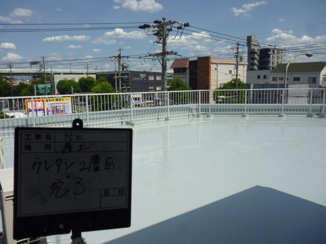 愛知県一宮市、I様邸防水工事をご紹介させていただきます。2年ほど前に他業者で外壁塗装・防水工事をお...