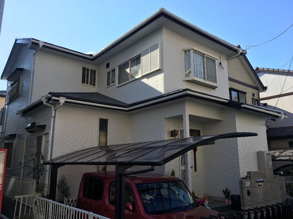 海部郡蟹江町 S様邸 外壁・屋根塗装工事をご紹介させていただきます。 築20年。 一回目の塗り替え...