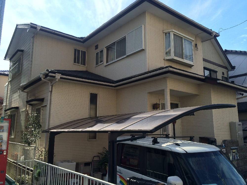 蟹江町 S様邸 外壁・屋根塗装