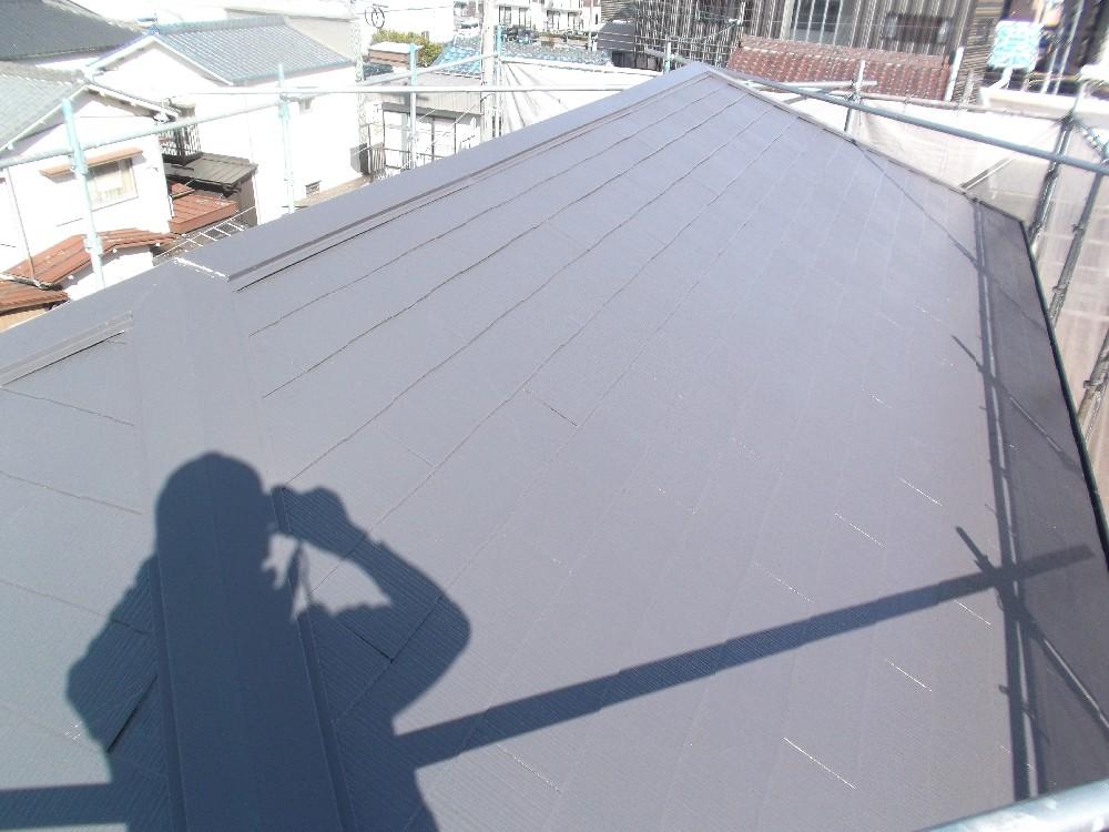 <p>屋根 カラーベスト 完成です。</p>