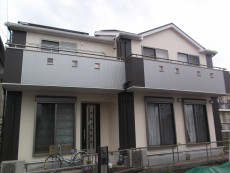 あま市 N様邸 外壁・屋根塗装工事をご紹介させていただきます。 築8年。他業者にそろそろ塗りごろで...