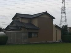 津島市 M様邸 外壁塗装 の外壁塗装、屋根塗り替え施工実績