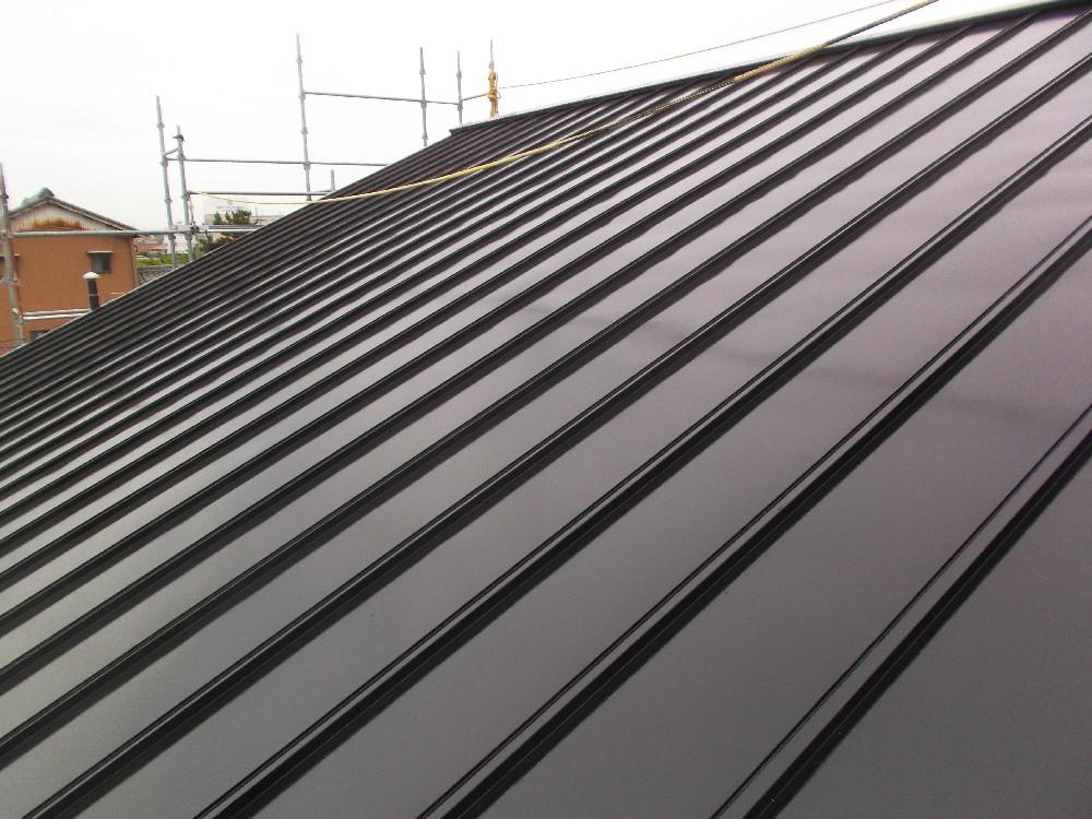 <p>屋根塗装 完了です。</p>