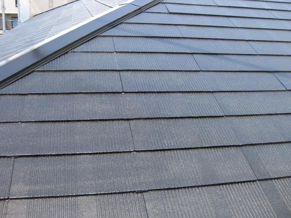<p></p> <p>屋根 塗装完了です。</p>