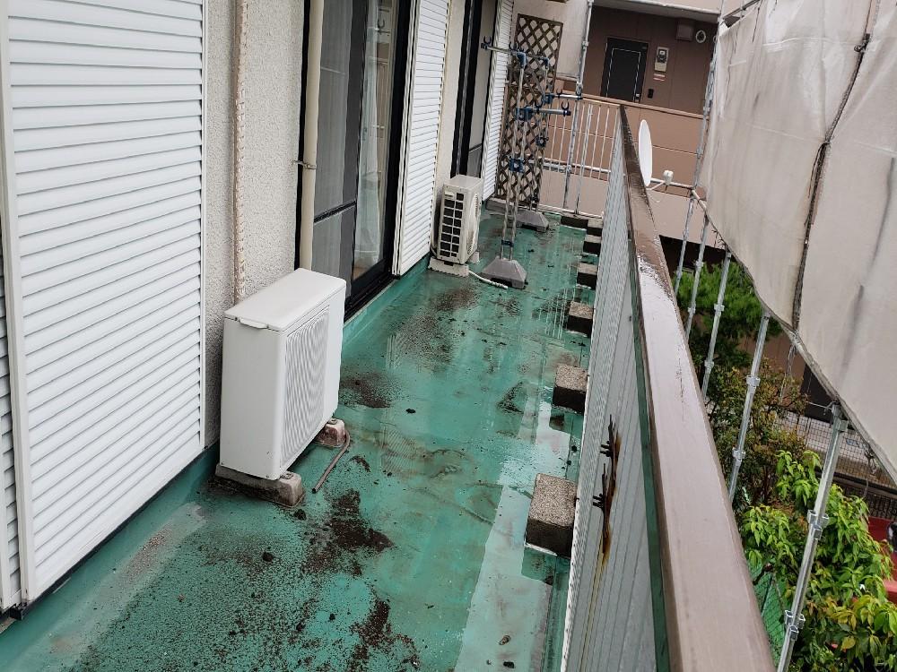 あま市 U様邸 屋根塗装・バルコニー防水工事