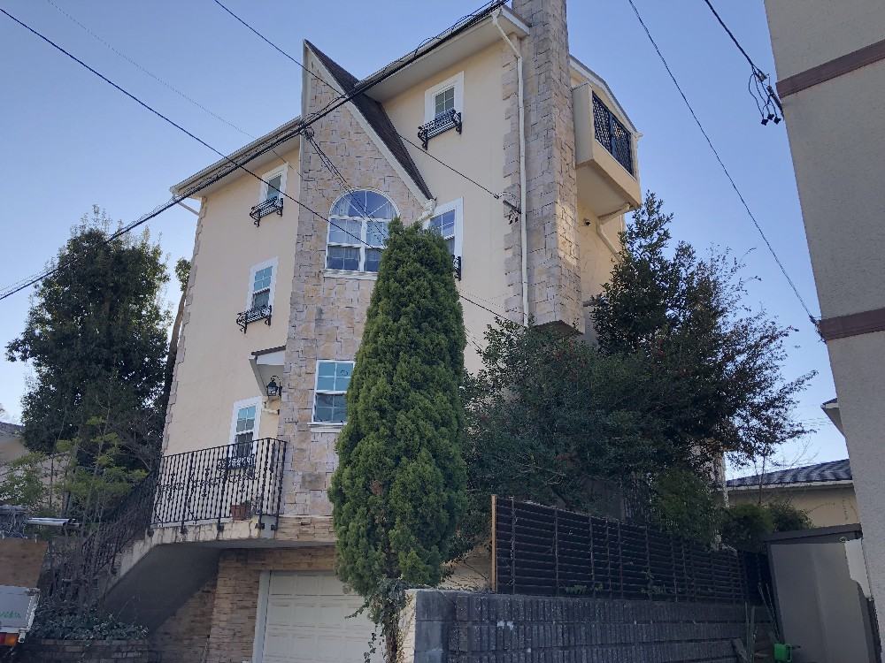 昭和区 K様邸 外壁塗装・屋根板金工事