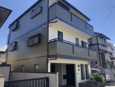 名東区 A様邸 外壁・屋根塗装 の外壁塗装、屋根塗り替え施工実績