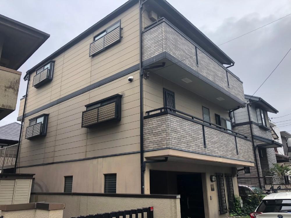 名東区 A様邸 外壁・屋根塗装