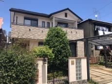 稲沢市 T様邸 外壁・屋根塗装 の外壁塗装、屋根塗り替え施工実績