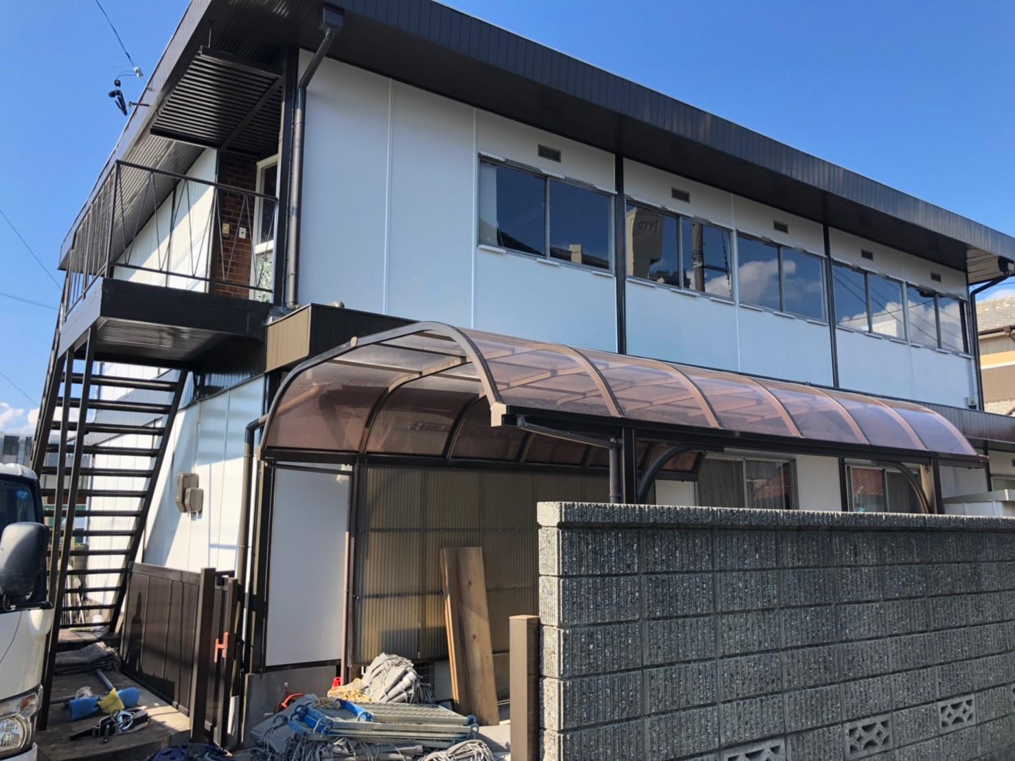 あま市 T様邸 2棟分のもう一棟のご紹介です。 こちらも同様に日本ペイント「ファインパーフェクトト...