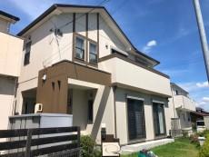 大治町 W様邸 外壁・屋根塗装 の外壁塗装、屋根塗り替え施工実績