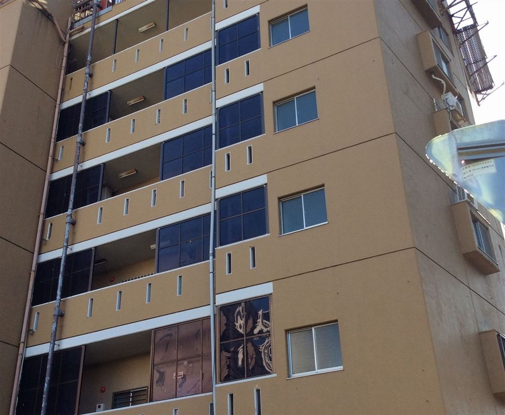 名古屋市 中区 某ビル 外壁塗装
