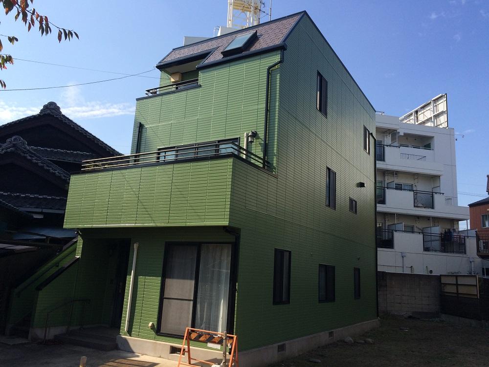 名古屋市西区 W様 外壁・屋根塗装
