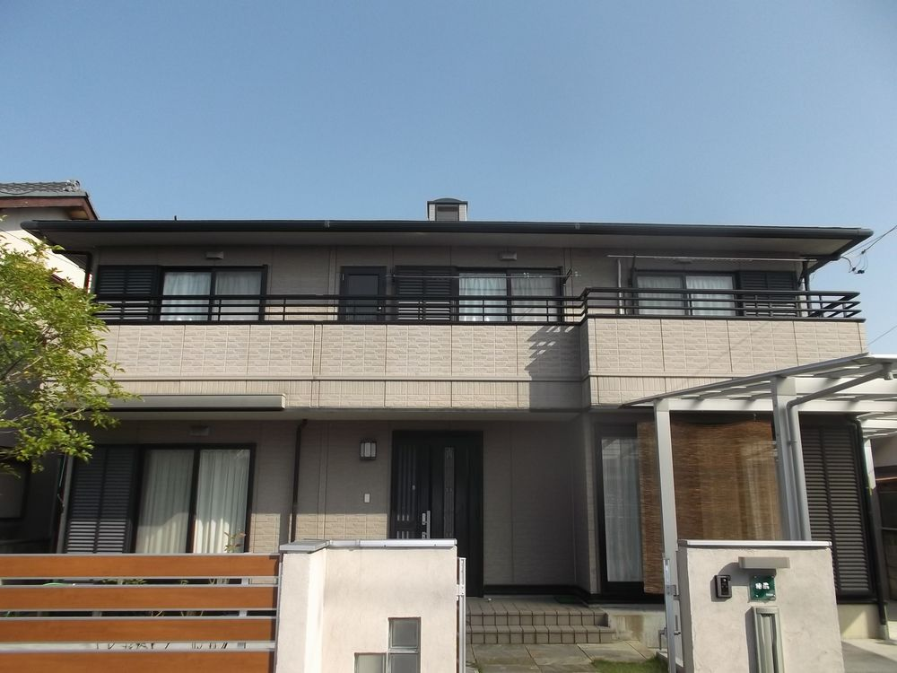 あま市 S様邸 外壁・屋根塗装