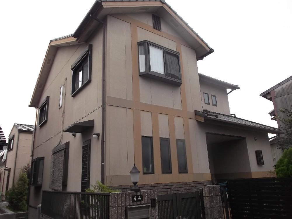 名古屋市中川区 A様邸 外壁塗装工事