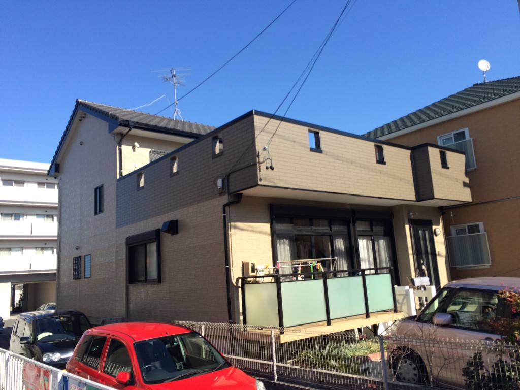 名古屋市中川区 F様邸 外壁塗装