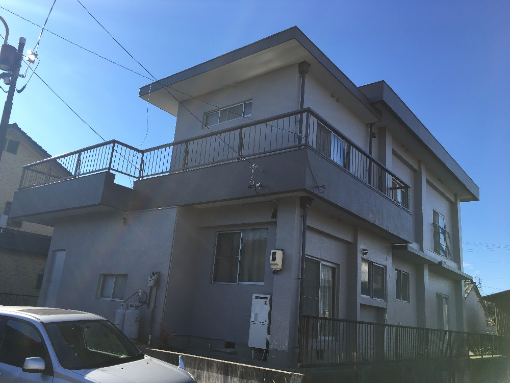 あま市 O様邸 外壁塗装・屋上防水