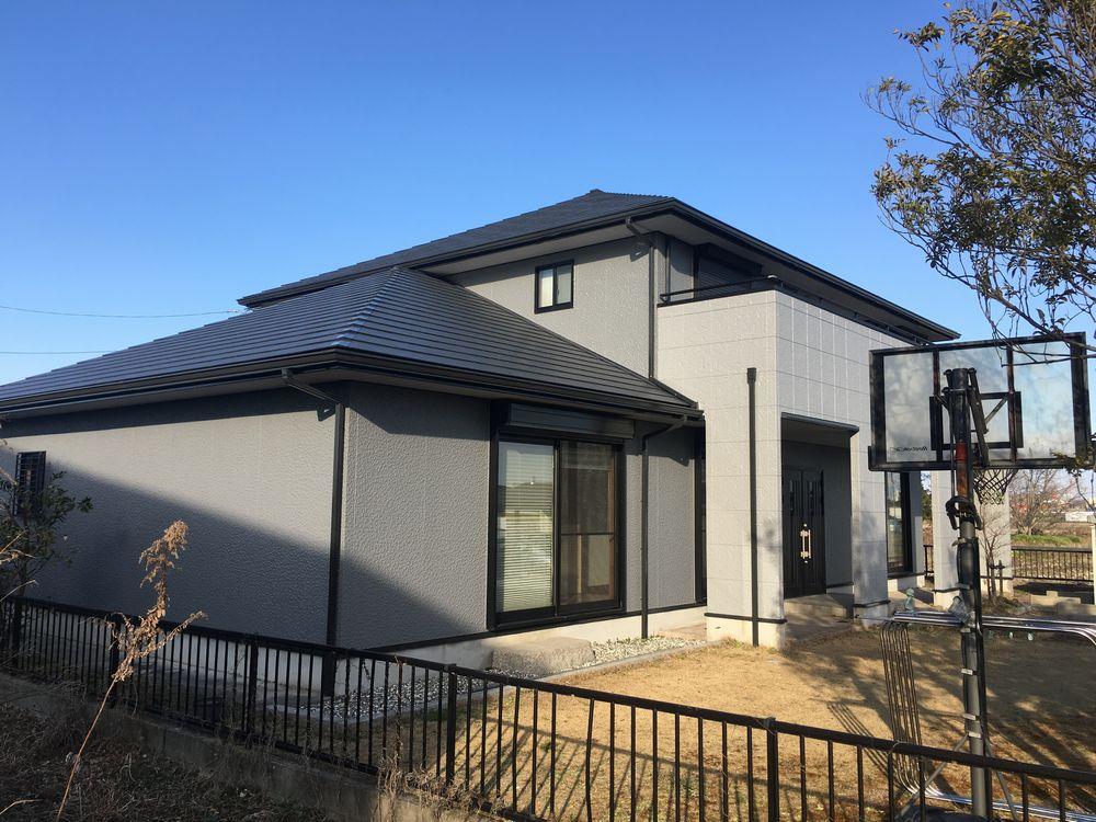 津島市 K様邸 外壁・屋根塗装