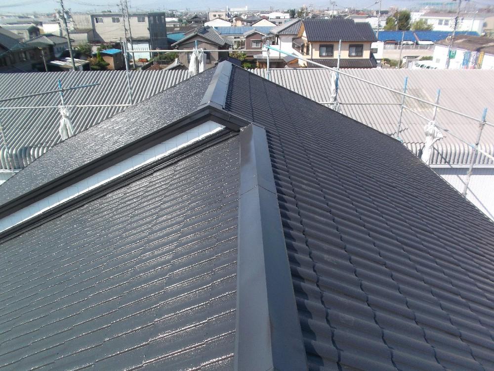 屋根 完成です。