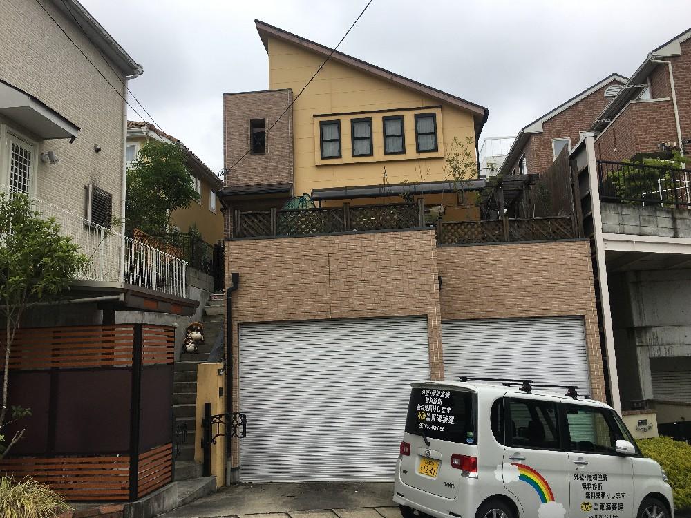 千種区 N様邸 外壁・屋根塗装 各種外構