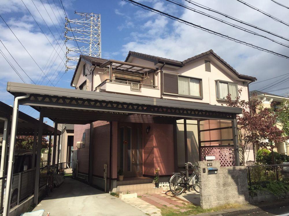 稲沢市 M様邸 外壁塗装