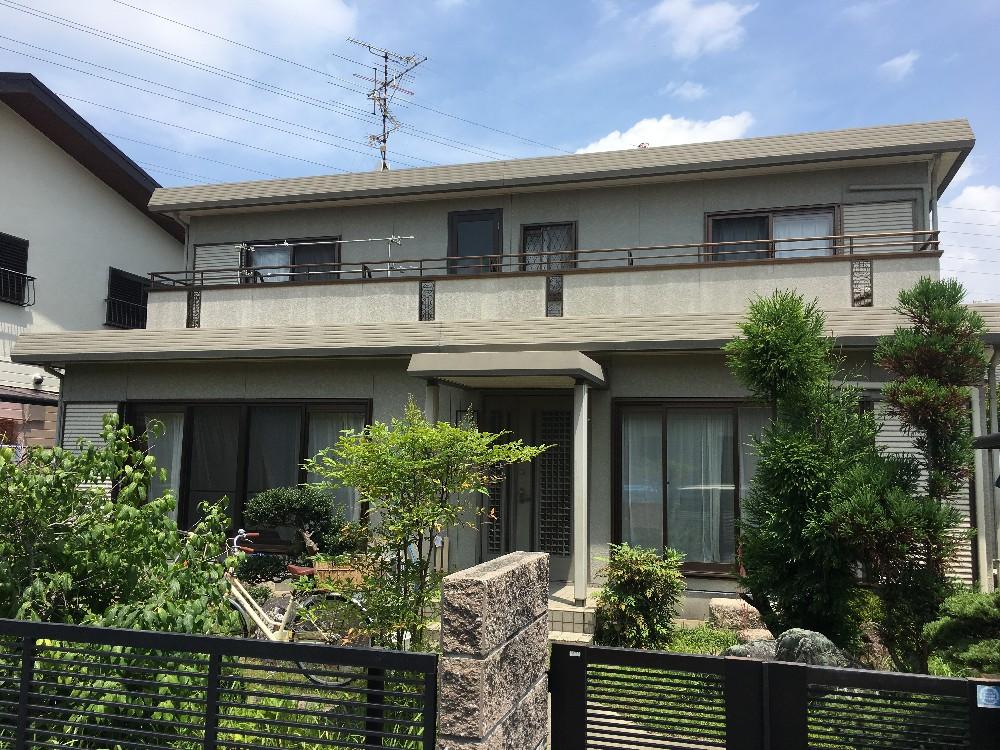 稲沢市 U様邸 外壁・屋根塗装