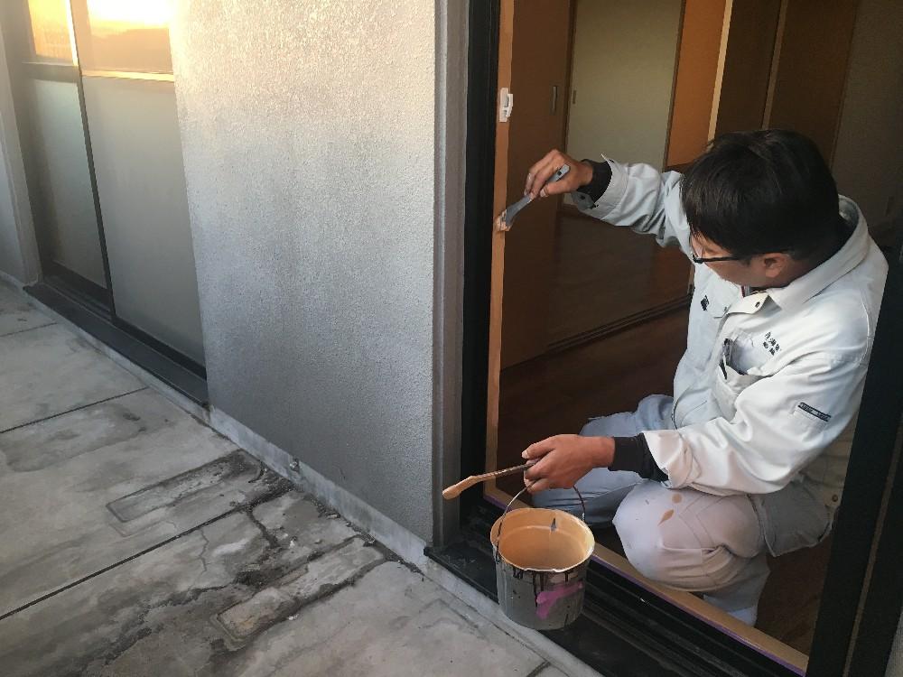 室内塗装!!