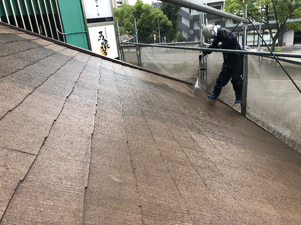 梅雨明けそして屋根塗装!!