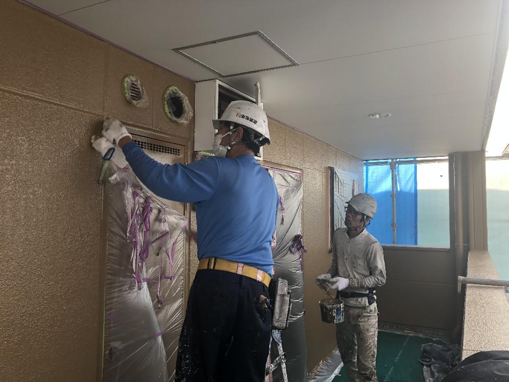 マンション・アパートの外壁塗装・防水工事!