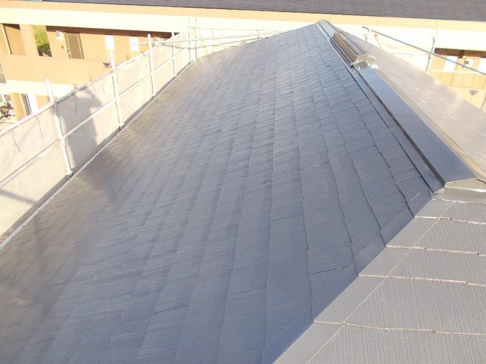 屋根カラーベスト 完了です。