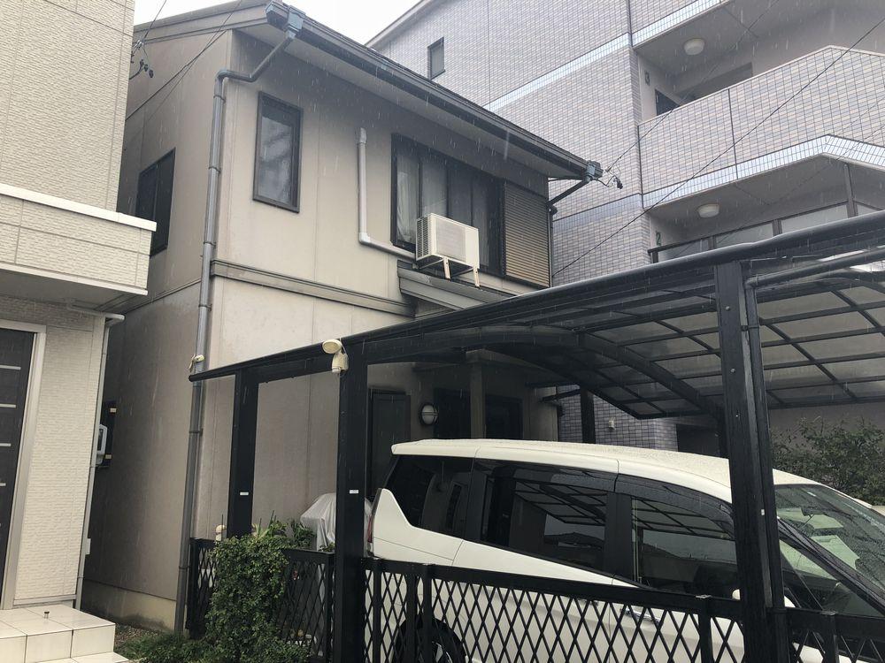 中村区 I様邸 外壁塗装・カーポート修繕