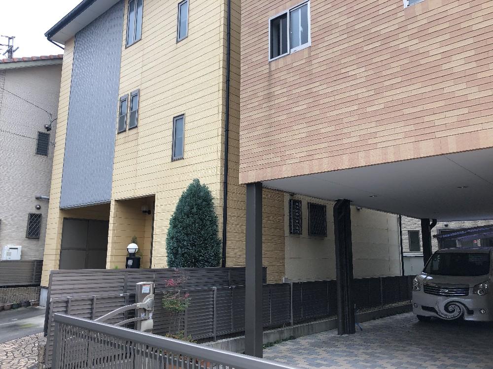 南区 W様邸 外壁・屋根塗装