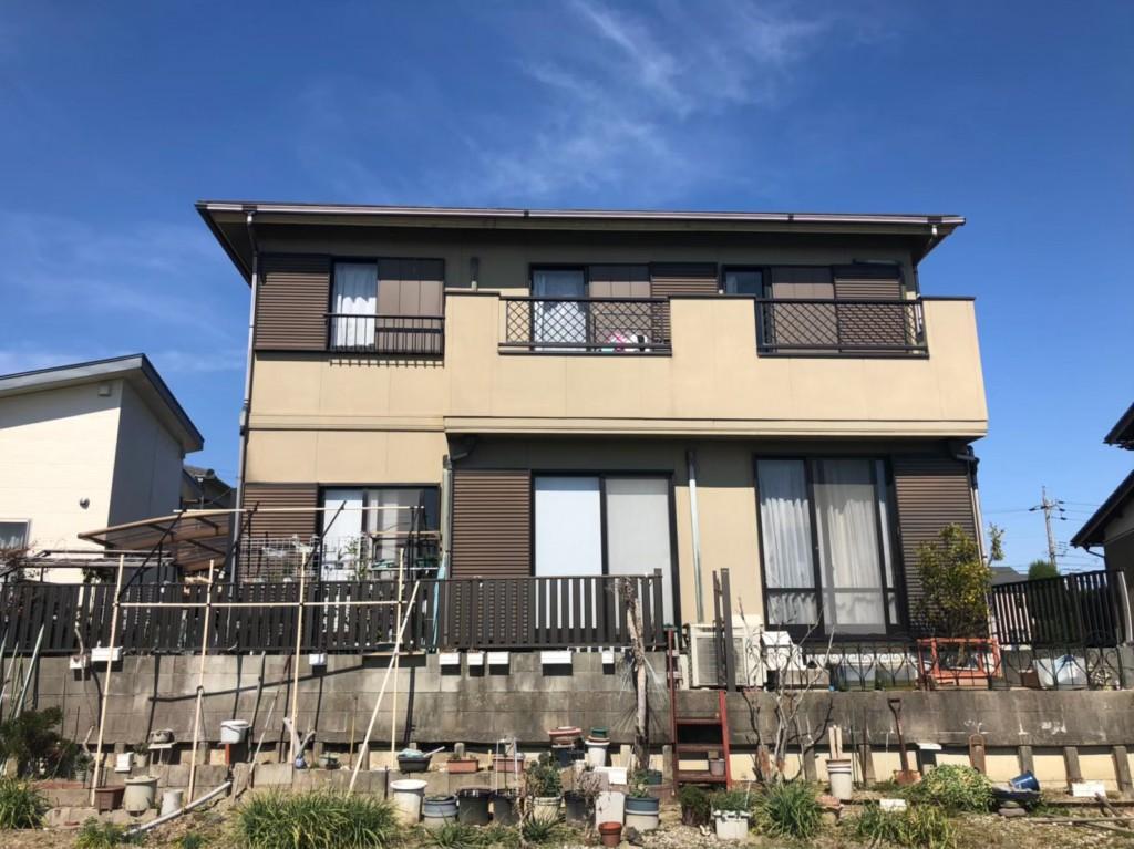 あま市 K様邸 外壁・屋根塗装