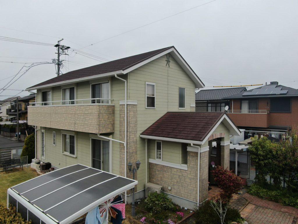 あま市 K様邸 外壁・屋根塗装 サイディング貼り替え