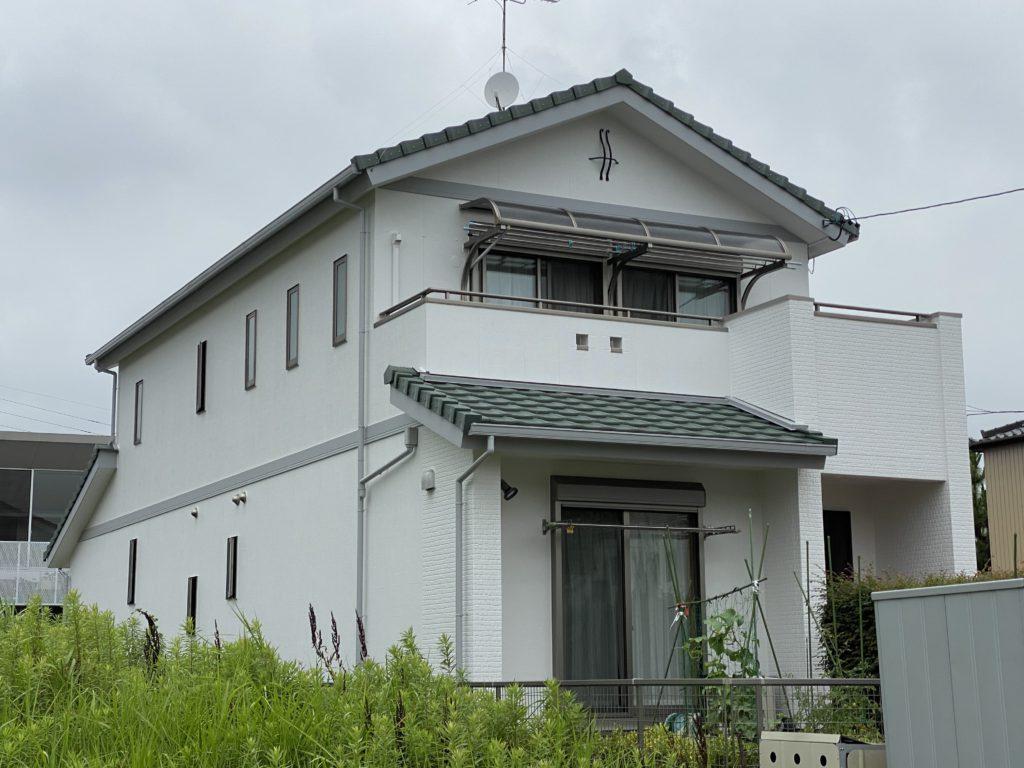 蟹江町 S様邸 外壁塗装・ベランダ防水
