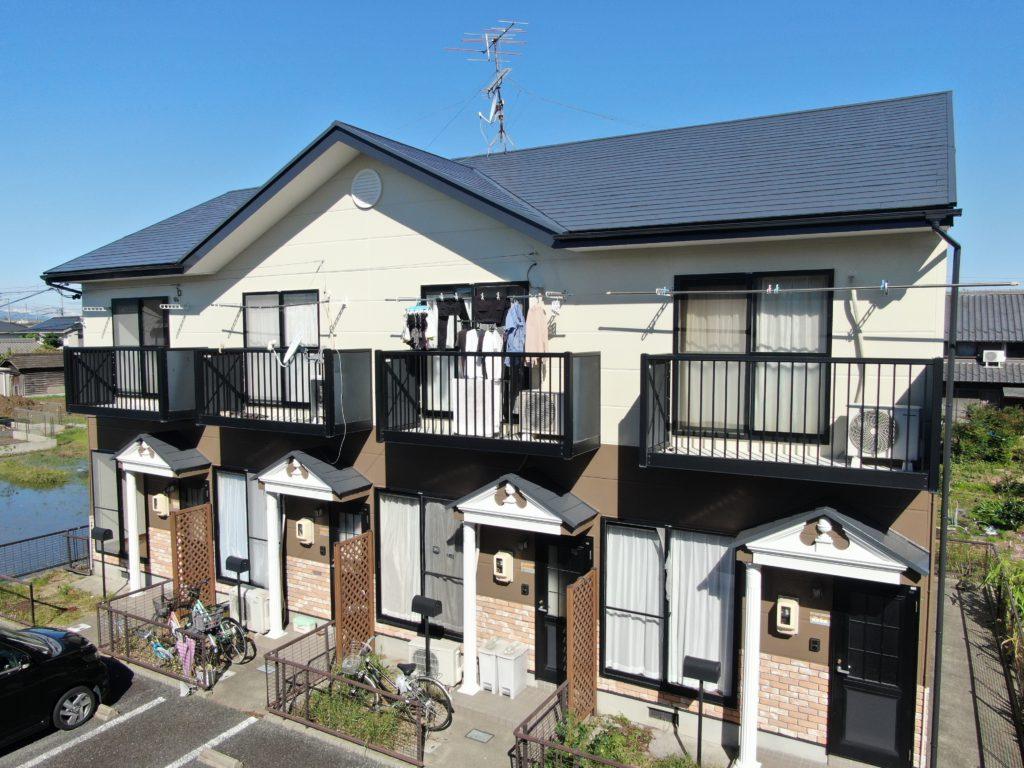 清須市 某アパート 外壁・屋根塗装