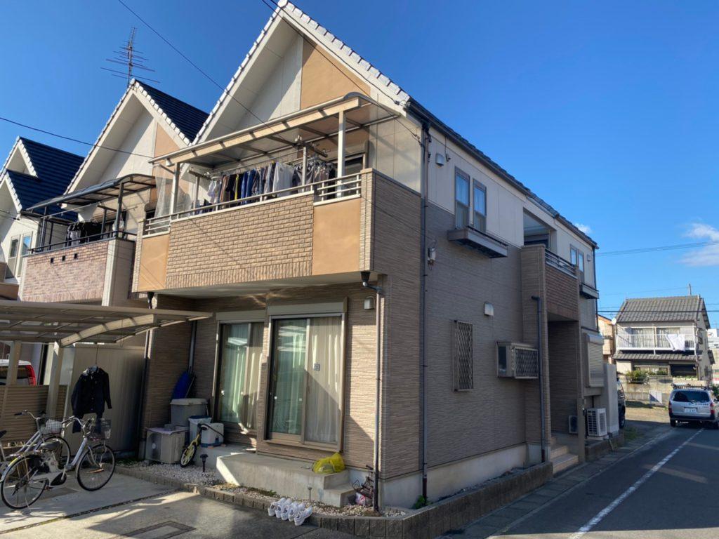 清須市 M様邸 外壁塗装