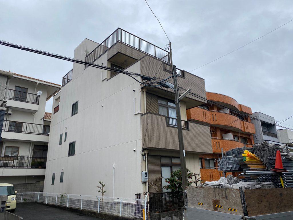 中村区 N様邸 外壁塗装・各所防水