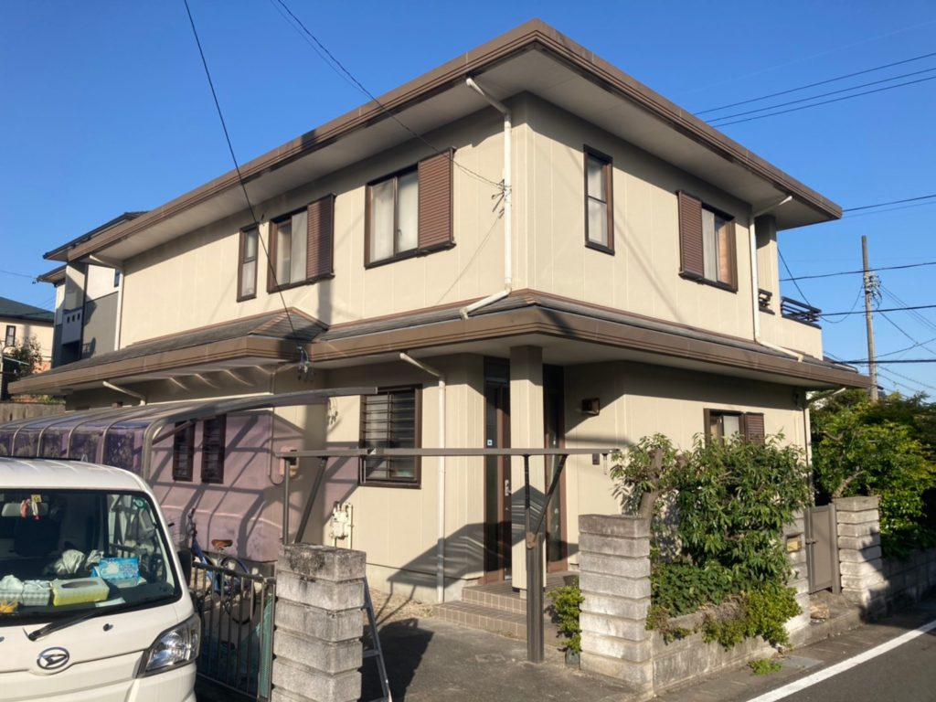 清須市 Y様邸 外壁塗装