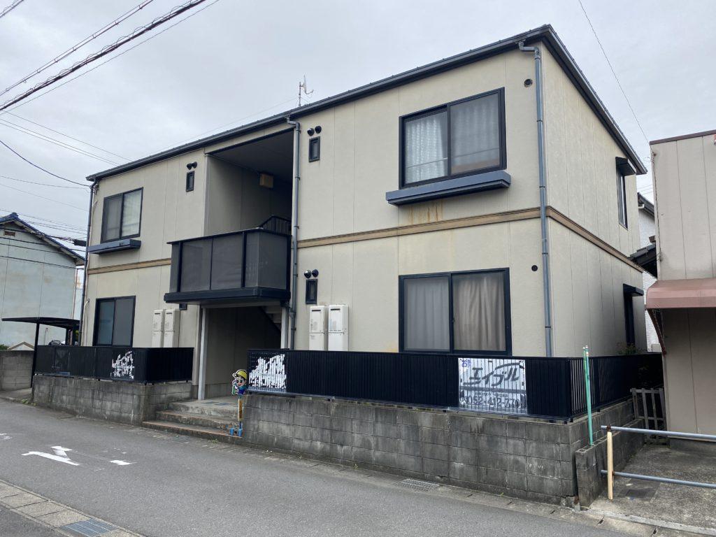 あま市 某アパート 外壁・屋根塗装