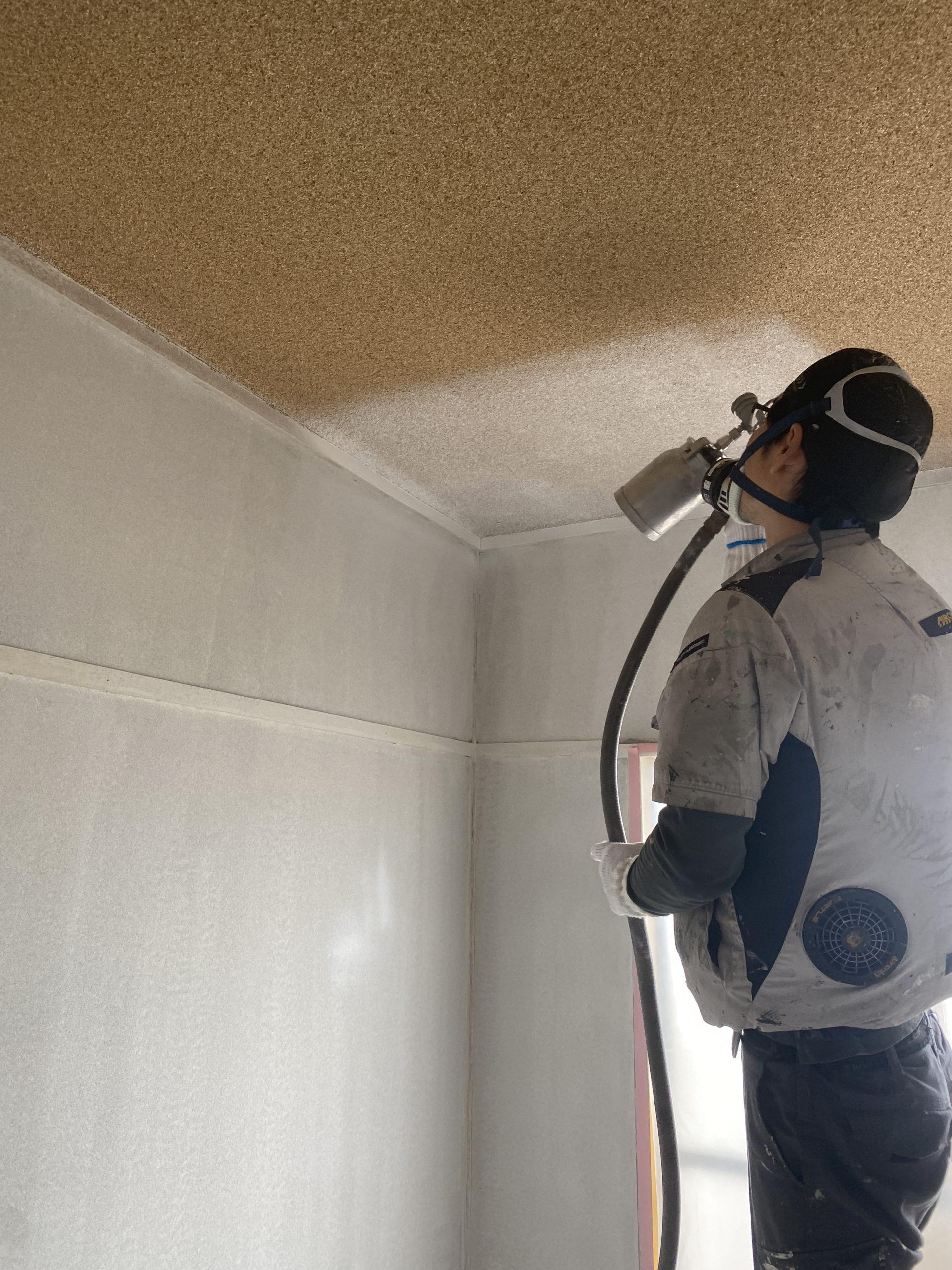 室内塗装!